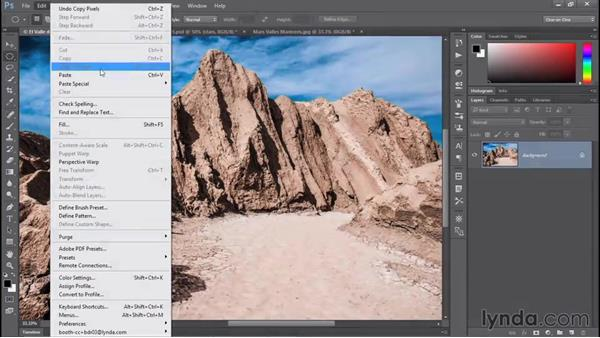 Photoshop's power of selection: Photoshop CC 2015 One-on-One: Fundamentals