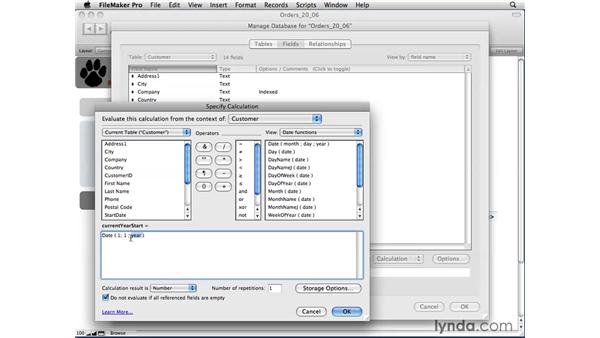 Understanding multi-predicate relationships: FileMaker Pro 10 Essential Training