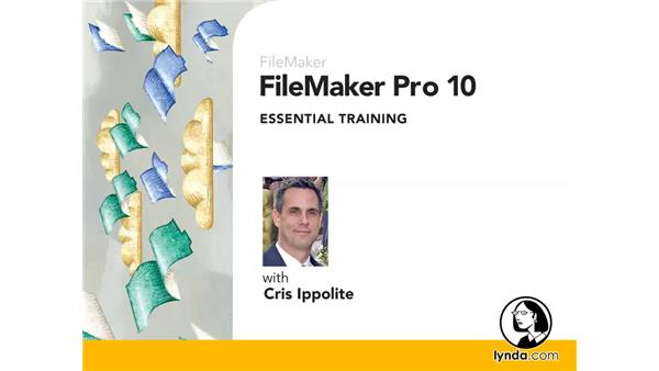 Goodbye: FileMaker Pro 10 Essential Training