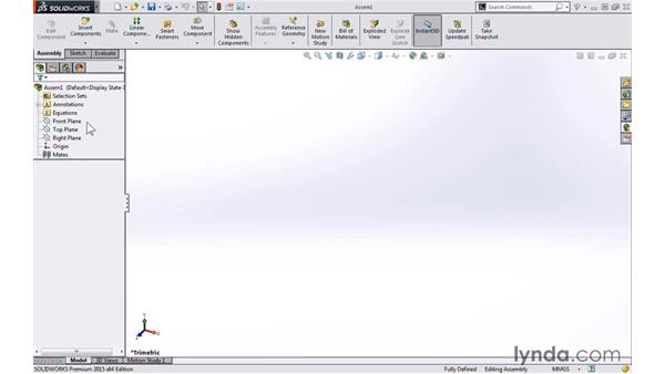 Skeleton modeling strategy: Modeling a Cabinet with SOLIDWORKS