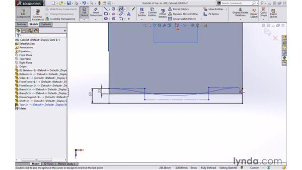 Top: Modeling a Cabinet with SOLIDWORKS