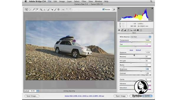 Welcome: Photoshop CS4 for Photographers: Camera Raw