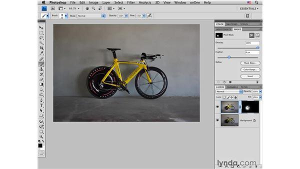 Road bike pt. 1: Adding light: Photoshop CS4 for Photographers: Creative Effects
