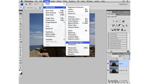 Adding light to enhance exposure: Photoshop CS4 for Photographers: Creative Effects