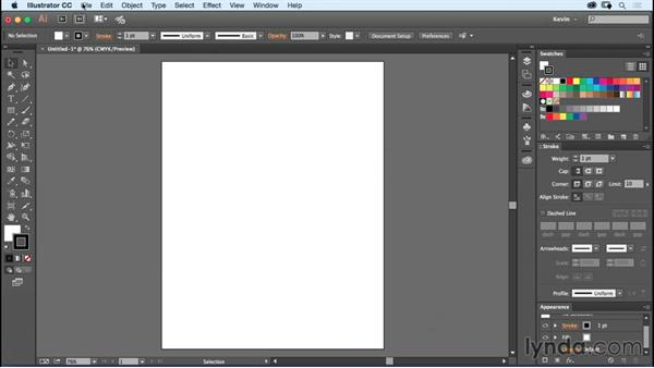 Importing raster source files: Designing a Poster with Custom Brushes in Illustrator