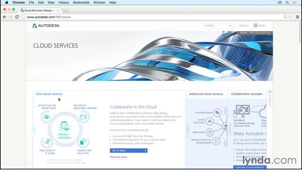 Autodesk cloud services: Up and Running with AutoCAD 360