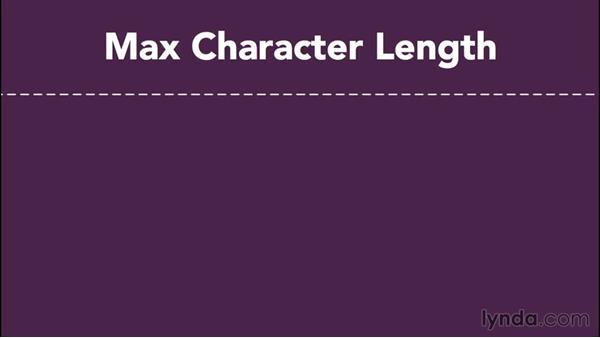 Storing text as character strings: Database Fundamentals: Creating and Manipulating Data