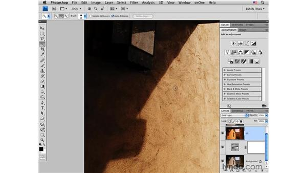 Creating aged style and color: Photoshop CS4 for Photographers: Creative Effects