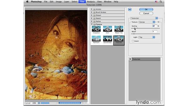 Using texture and blending: Photoshop CS4 for Photographers: Creative Effects