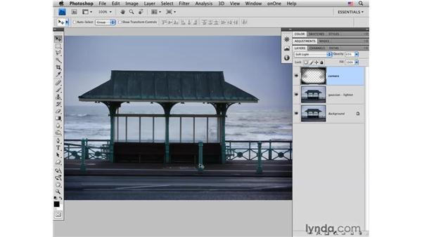 Creating a soft-focus effect: Photoshop CS4 for Photographers: Creative Effects