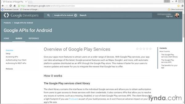 Using the SDK documentation: Adding Google Maps to Android Apps