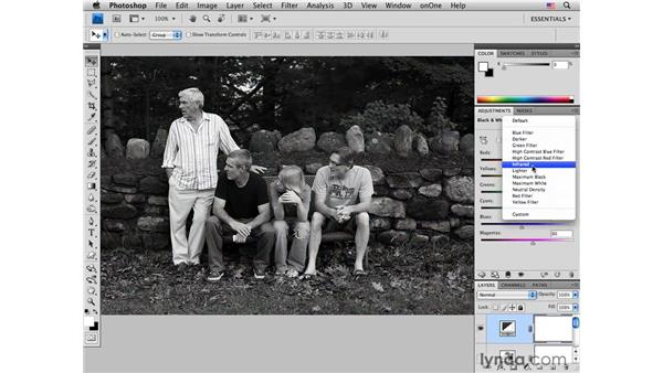 Introducing infrared: Photoshop CS4 for Photographers: Creative Effects