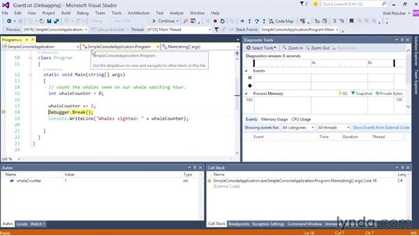 Welcome: Visual Studio 2015 Essentials 02: Getting Comfortable with the IDE