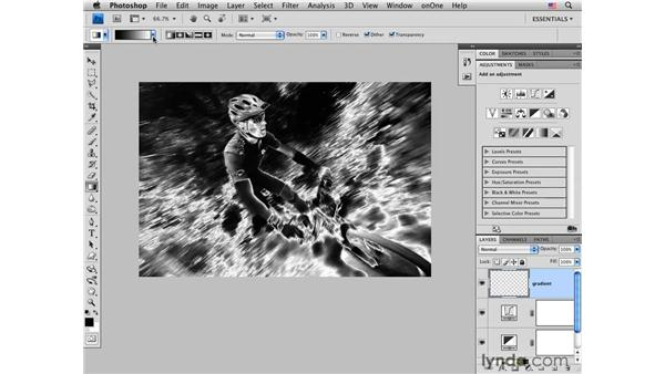Applying solarization and color: Photoshop CS4 for Photographers: Creative Effects