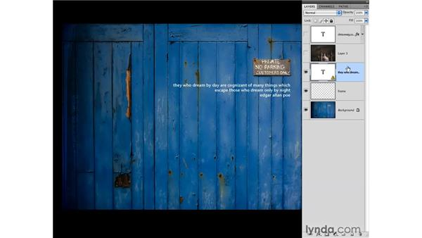 Daydreaming: Exploring more blend modes: Photoshop CS4 for Photographers: Creative Effects