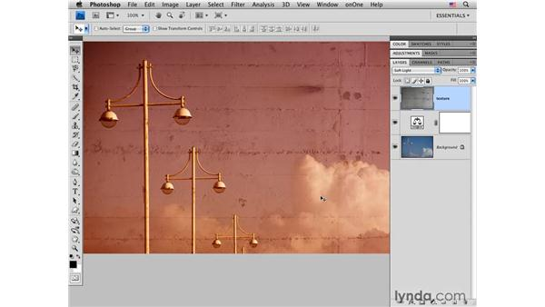 Infinite: Layer blending with color and texture: Photoshop CS4 for Photographers: Creative Effects
