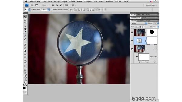 Combining depths of field: Photoshop CS4 for Photographers: Creative Effects