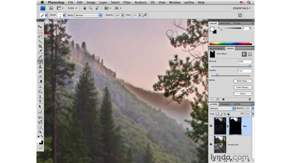 Combining foreground and sky: Photoshop CS4 for Photographers: Creative Effects