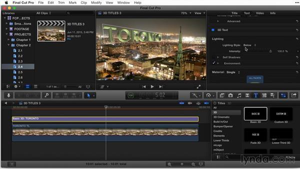 Welcome: Final Cut Pro X Guru: Titles and Effects