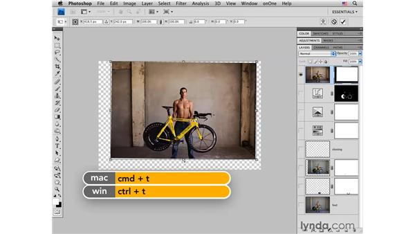 Cropping to correct edges: Photoshop CS4 for Photographers: Creative Effects