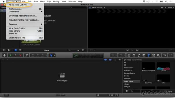 What you should know before watching this course: Final Cut Pro X Guru: Titles and Effects