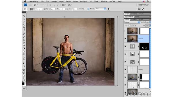 Using the amazing Content-Aware Scaling: Photoshop CS4 for Photographers: Creative Effects