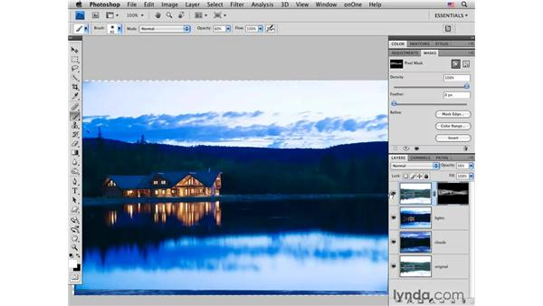 Increasing drama and visual interest: Photoshop CS4 for Photographers: Creative Effects