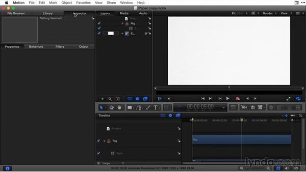 The Motion connection, part 1: Final Cut Pro X Guru: Titles and Effects