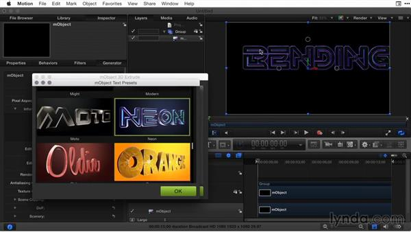 Expanding 3D text with third-party templates: Final Cut Pro X Guru: Titles and Effects