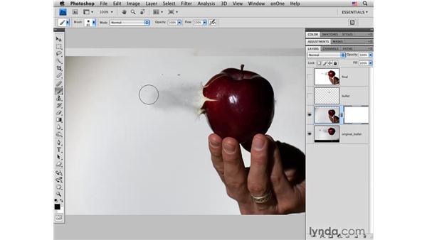 Masking multiple images together: Photoshop CS4 for Photographers: Creative Effects