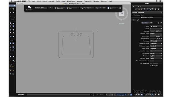 Adding the blocks: Using Dynamic Blocks in AutoCAD for Mac