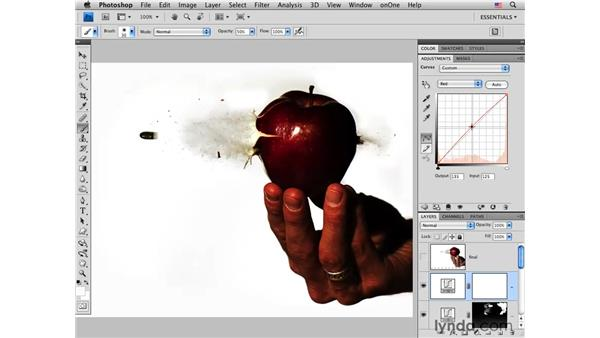 Final adjustments and image review: Photoshop CS4 for Photographers: Creative Effects