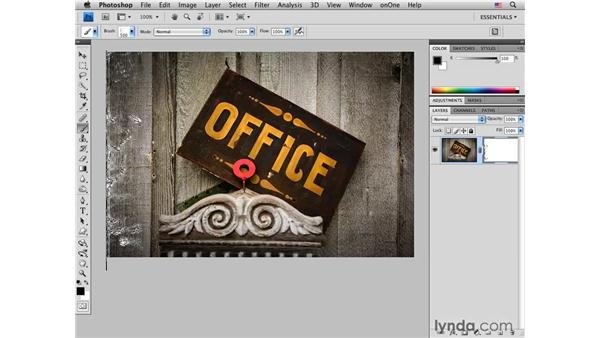 Using custom brushes to create edge effects    : Photoshop CS4 for Photographers: Creative Effects