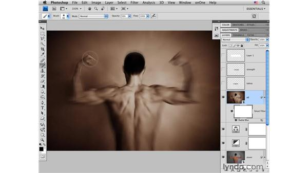 Adding more zoom: Photoshop CS4 for Photographers: Creative Effects