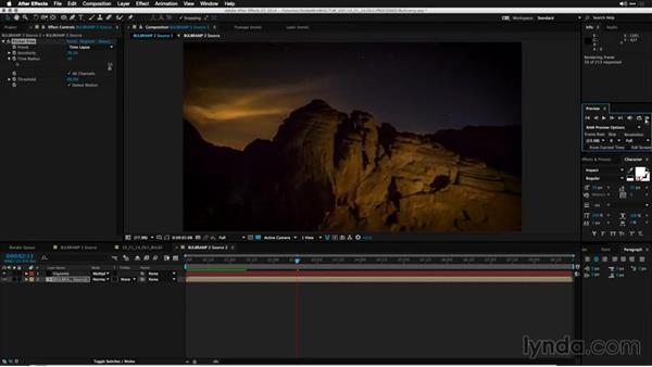 Using Flicker Free, part 2: Shooting a Nighttime Time-Lapse Video