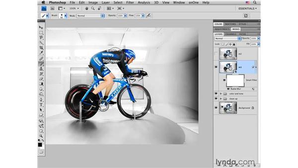 Adding motion blur: Photoshop CS4 for Photographers: Creative Effects
