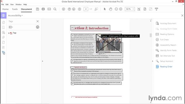 Adding alternative text: Creating Accessible PDFs with Acrobat DC