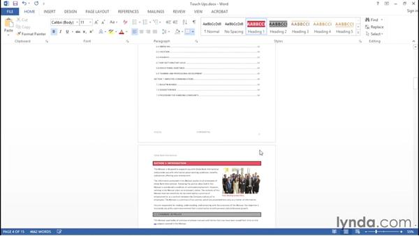 Required touch-ups after conversion from Word: Creating Accessible PDFs with Acrobat DC