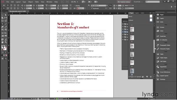 Adding PDF bookmarks in InDesign: Creating Accessible PDFs with Acrobat DC