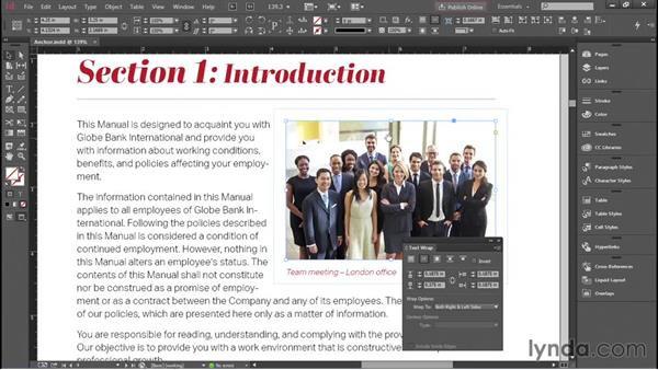 Anchoring images: Creating Accessible PDFs with Acrobat DC