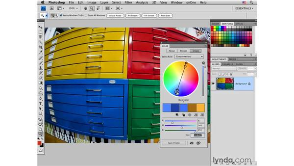 Introducing Adobe Kuler: Photoshop CS4 for Photographers: Creative Color