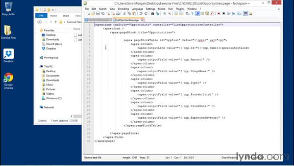 Using the exercise files: Improving Visualforce Performance