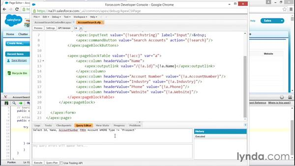 Using the Query Plan tool to optimize queries: Improving Visualforce Performance