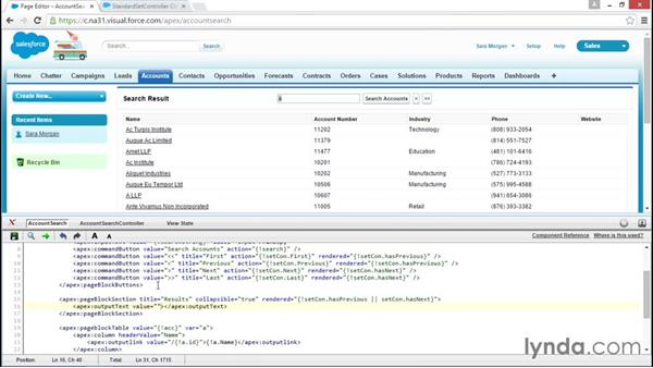 Adding variable result text: Improving Visualforce Performance
