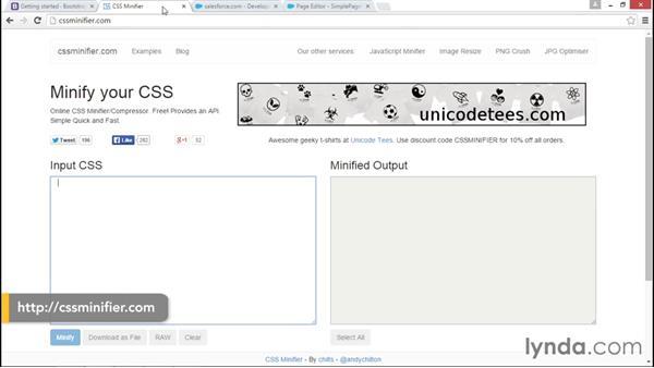 Optimizing CSS: Improving Visualforce Performance