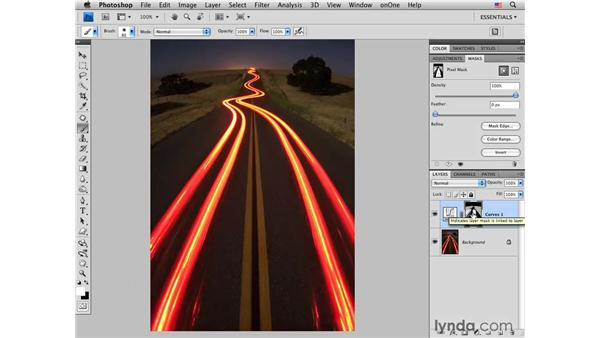 Night photography pt. 1: Brightening and contrast: Photoshop CS4 for Photographers: Creative Color