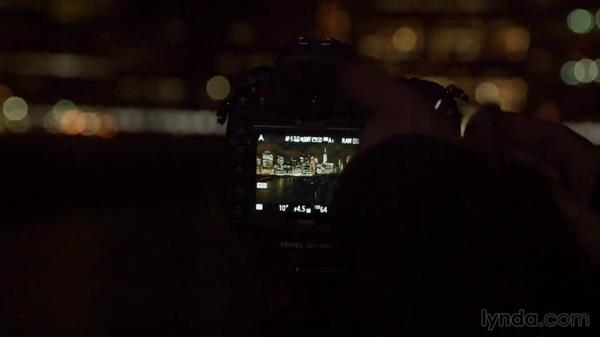 Taking the first shots of the skyline at night: Street Photography: The City at Night