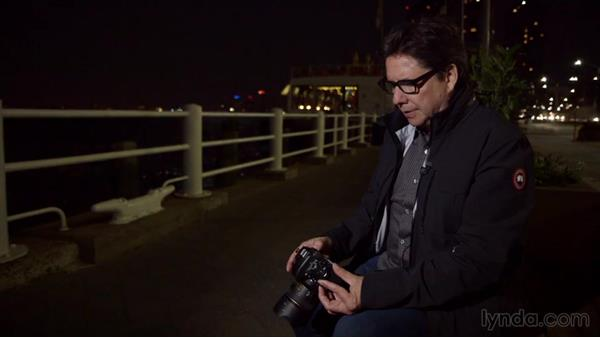 Zeroing out camera settings after a complex shoot: Street Photography: The City at Night