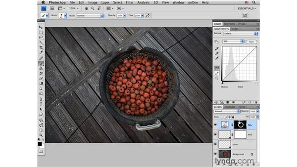 Fisherman's floats: Subtle color with curves : Photoshop CS4 for Photographers: Creative Color