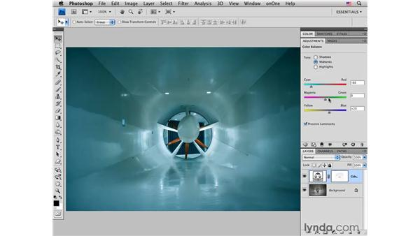Wind tunnel: Masking using the Color Range command: Photoshop CS4 for Photographers: Creative Color